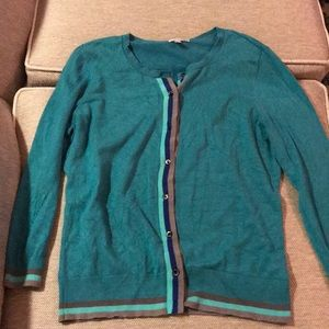 Halogen Teal Cardigan
